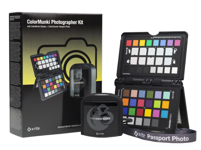 X-Rite ColorMunki Photographer Kit s ColorMunki Display + ColorChecker Passport