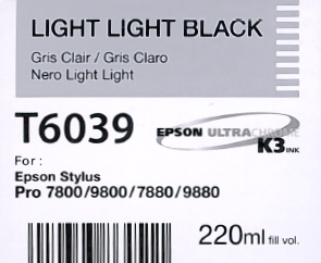 T6039 Light Light Black
